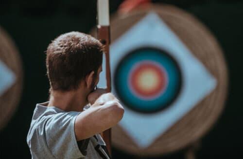 Can I practice archery in my backyard?