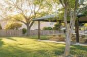 How big is the average backyard?