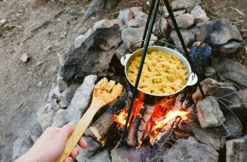 Camping meal ideas that don't require refrigeration