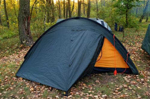 How to keep insects out of a tent?