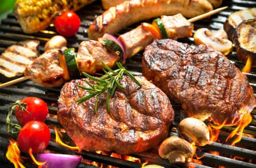 Difference between roasting and grilling