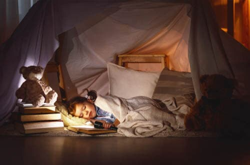 Ideas and activities for the indoor camping for your kids