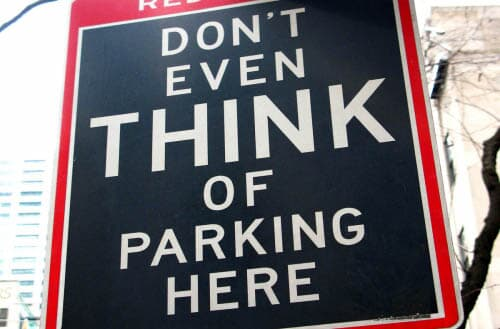How to keep neighbors from parking in front of my house?