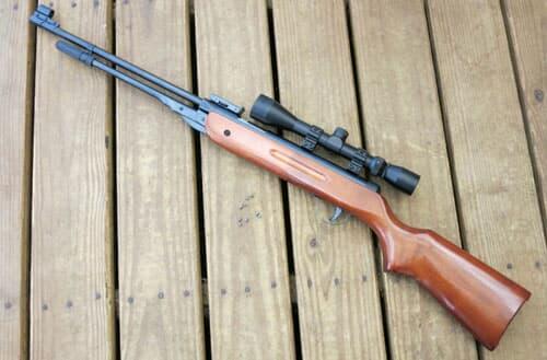 Can I shoot a pellet gun in my backyard?