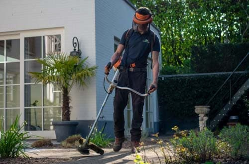How to use a weed eater?